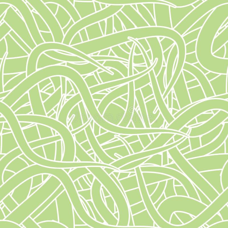 Modelo inconsútil abstracto del papel pintado stock de ilustración
