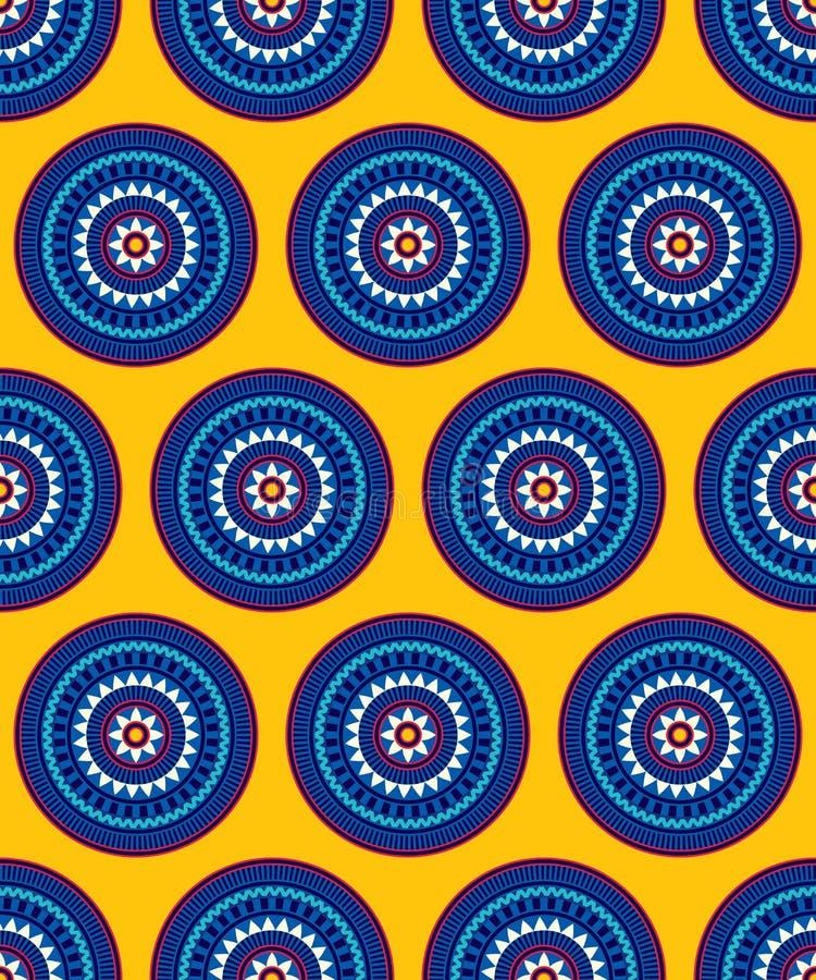Modelo inconsútil abstracto para imprimir en el papel y las materias textiles stock de ilustración