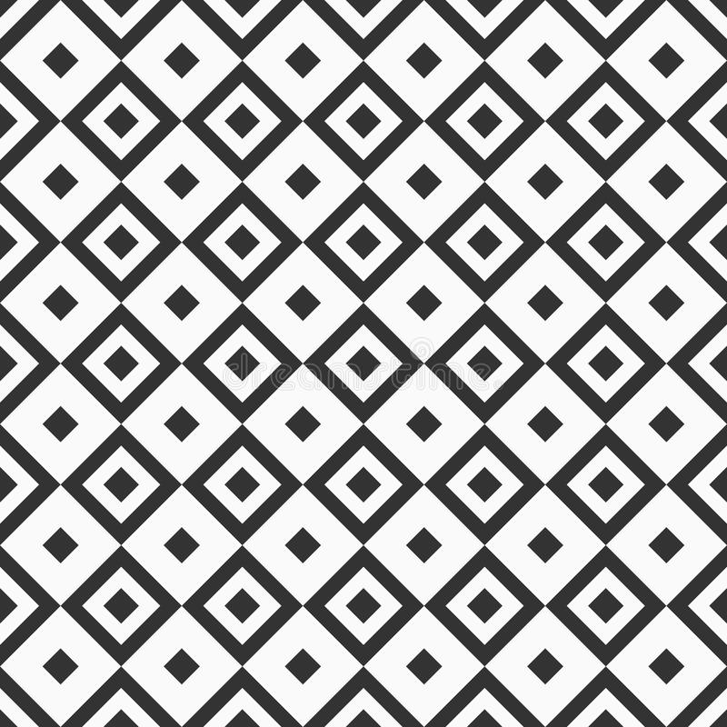 Modelo inconsútil abstracto Repetición de las tejas geométricas con los Rhombus stock de ilustración