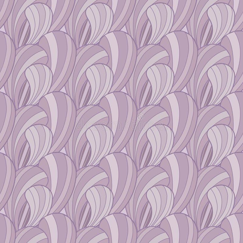 Modelo inconsútil abstracto violeta ilustración del vector