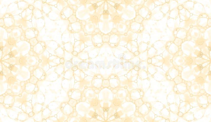 Modelo inconsútil amarillo Jabón delicado atractivo ilustración del vector