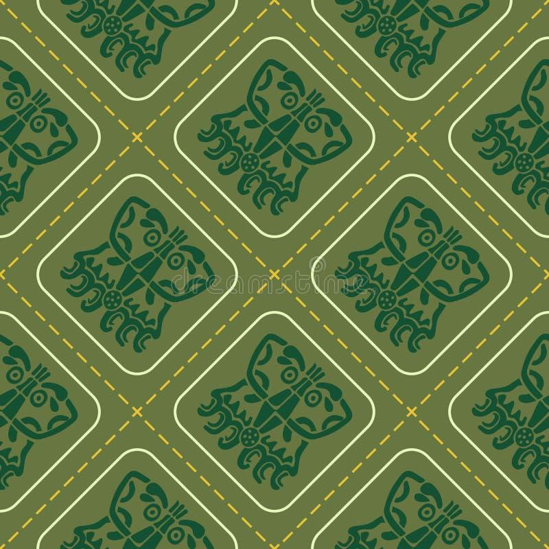 Download Modelo Inconsútil Con Arte Americano De Los Indios Y Ornamentos étnicos Ilustración del Vector - Ilustración de culto, elemento: 64212925