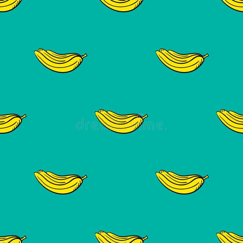 Modelo inconsútil con banans-1 libre illustration