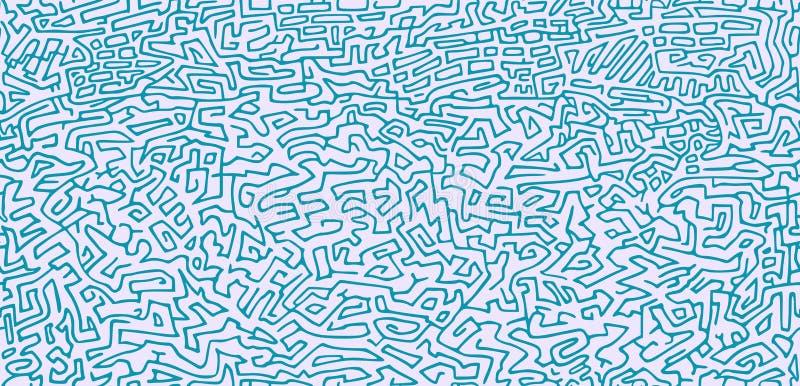 Modelo inconsútil con el modelo abstracto libre illustration