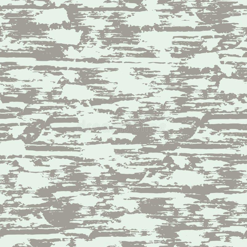 Modelo inconsútil con la superficie descascada textura Fondo en colores azules y grises grunge Tinta y cepillo Extracto Mano dren libre illustration