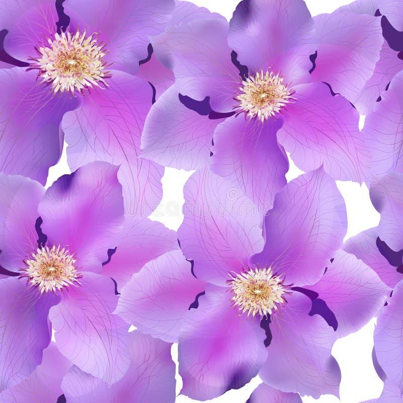 Modelo inconsútil con las flores. Vector, EPS 10 stock de ilustración