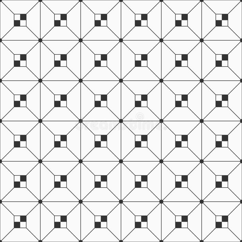 Modelo inconsútil con rectángulos a cuadros ilustración del vector