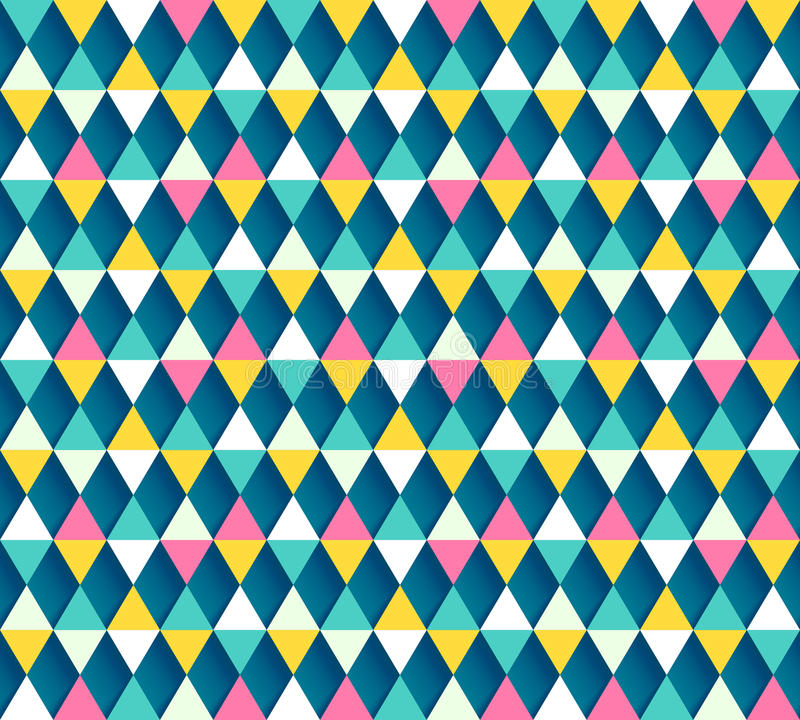 Modelo inconsútil de Argyle, cuatro opciones del color stock de ilustración