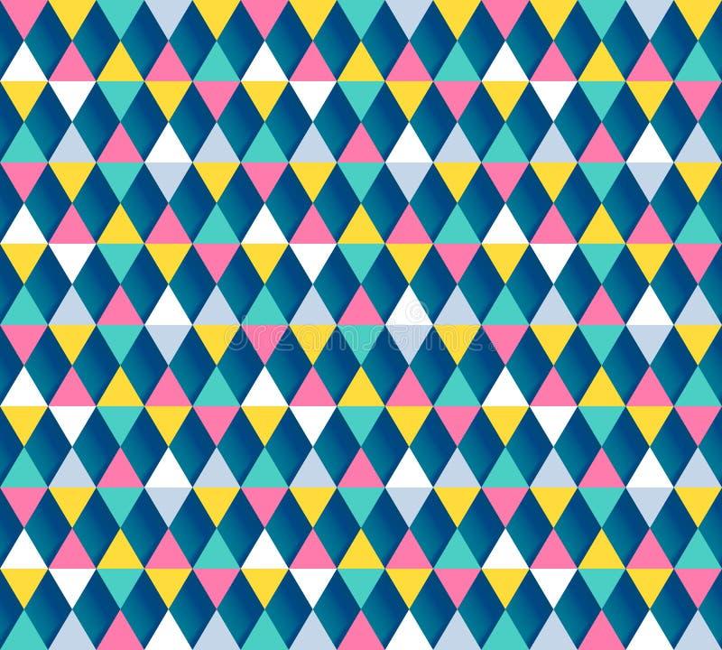 Modelo inconsútil de Argyle, cuatro opciones del color Ilustración del vector stock de ilustración