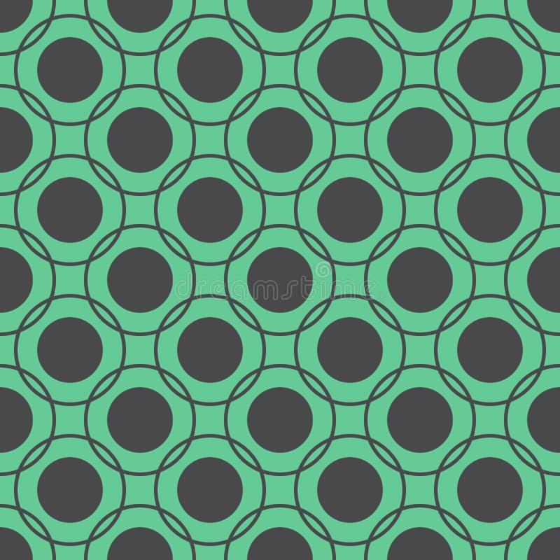 Modelo inconsútil de círculos libre illustration