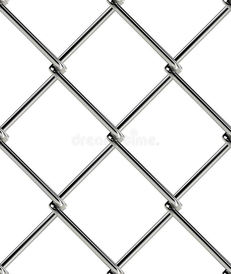 Modelo inconsútil de la cerca de la alambrada Papel pintado industrial del estilo ilustración del vector