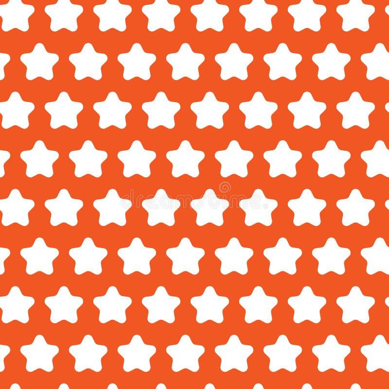 Modelo inconsútil de la estrella geométrica abstracta Vector stock de ilustración