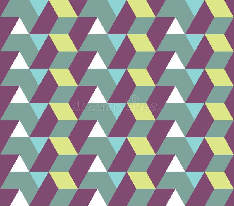 Modelo inconsútil de la geometría stock de ilustración