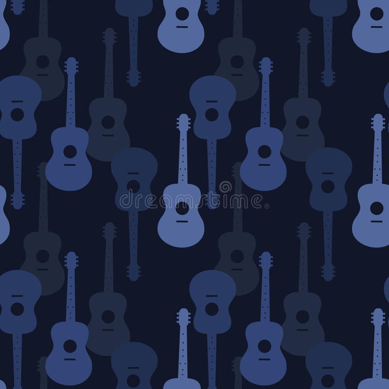 Modelo inconsútil de la música libre illustration