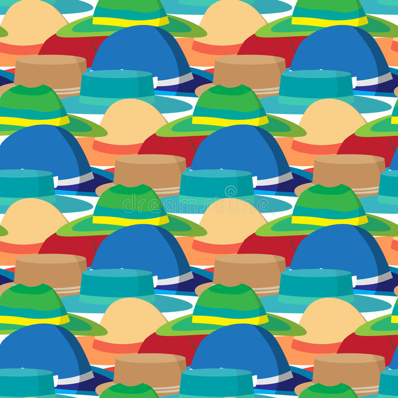 Modelo inconsútil de la materia textil con diseño plano moderno del vector libre illustration