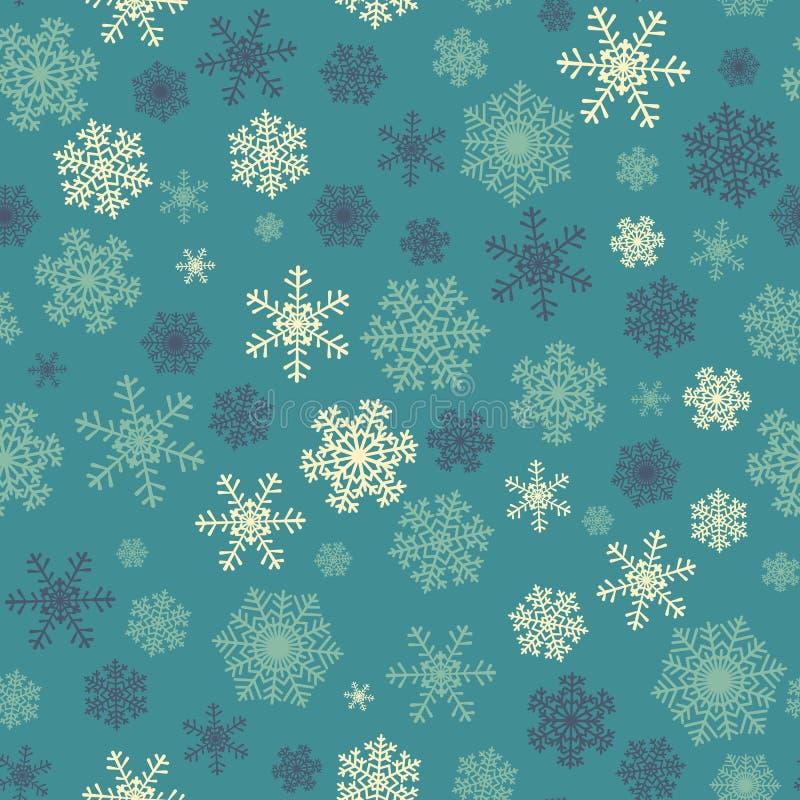 Modelo inconsútil de la Navidad ilustración del vector