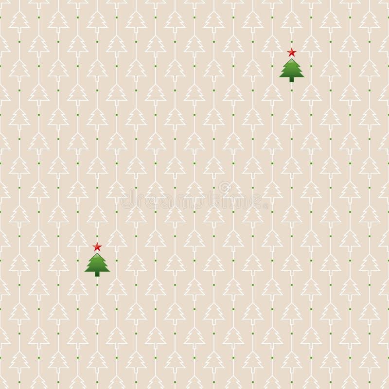 Download Modelo Inconsútil De La Navidad Ilustración del Vector - Ilustración de celebración, scrapbook: 41909800