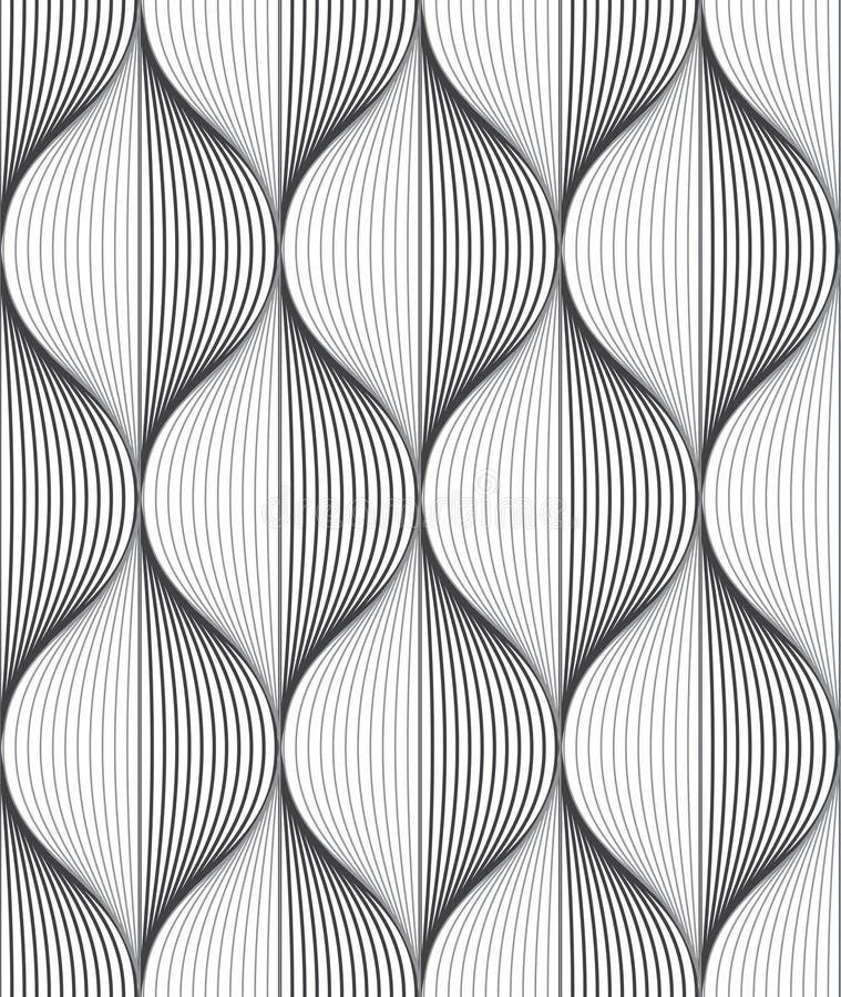 Modelo inconsútil de la ondulación libre illustration