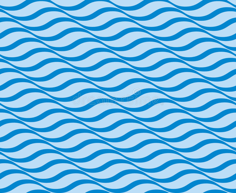 Modelo inconsútil de la ondulación stock de ilustración