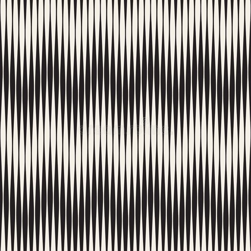 Modelo inconsútil de la ondulación Repetición de textura del vector Fondo gráfico ondulado Rayas simples ilustración del vector