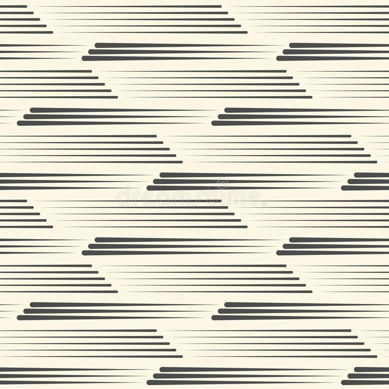 Modelo inconsútil de la raya Línea abstracta textura libre illustration