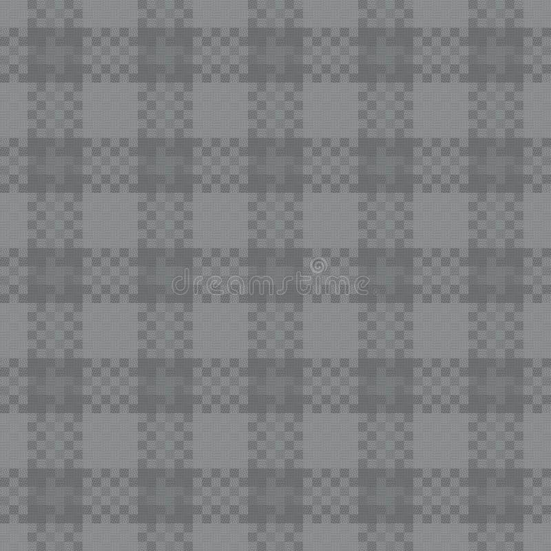 Modelo inconsútil de la tela ilustración del vector