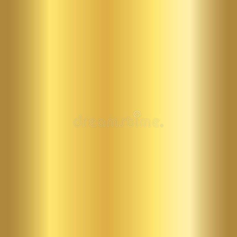 Modelo inconsútil de la textura brillante realista del oro stock de ilustración
