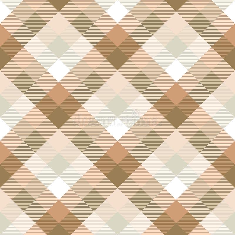 Modelo inconsútil de la textura diagonal de la tela de la tela escocesa stock de ilustración