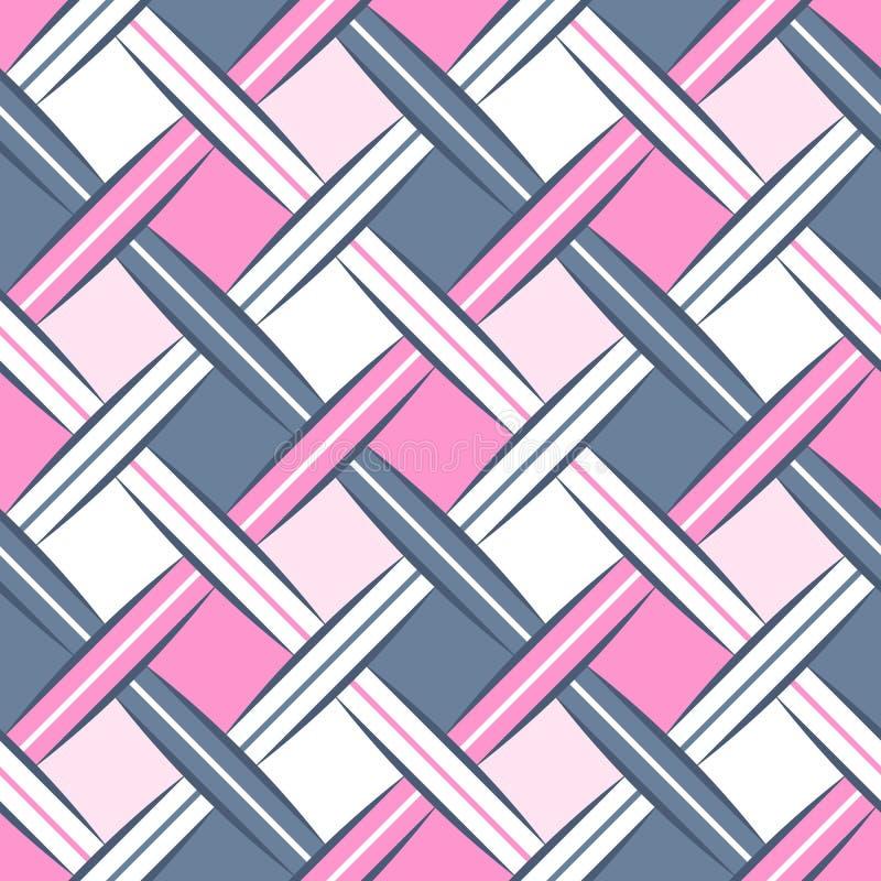 Modelo inconsútil de las correas dulces del Rhombus libre illustration