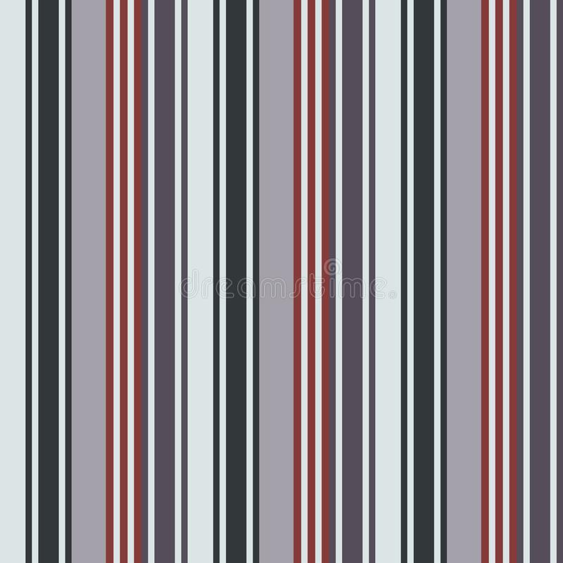 Modelo inconsútil de las rayas del estilo retro del color de la tela Vect abstracto libre illustration