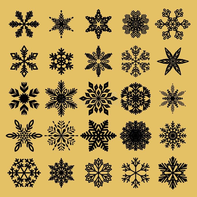 Modelo inconsútil de oro del Año Nuevo para el envoltorio para regalos o tarjetas para los días de fiesta Estilo f?cil en una l?n ilustración del vector