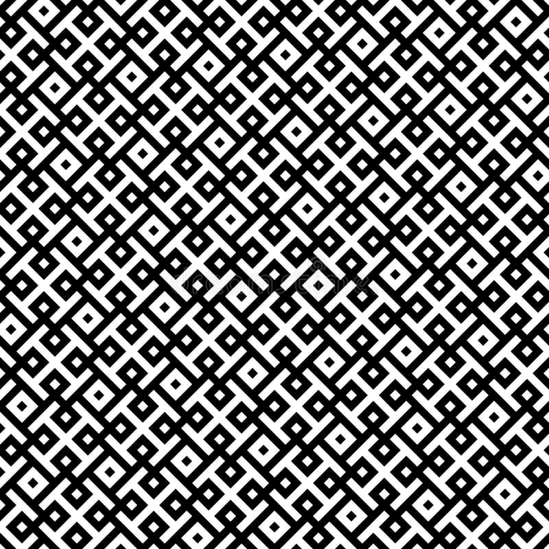 Modelo inconsútil de Rhombus y de rectángulos Fondo geométrico imágenes de archivo libres de regalías