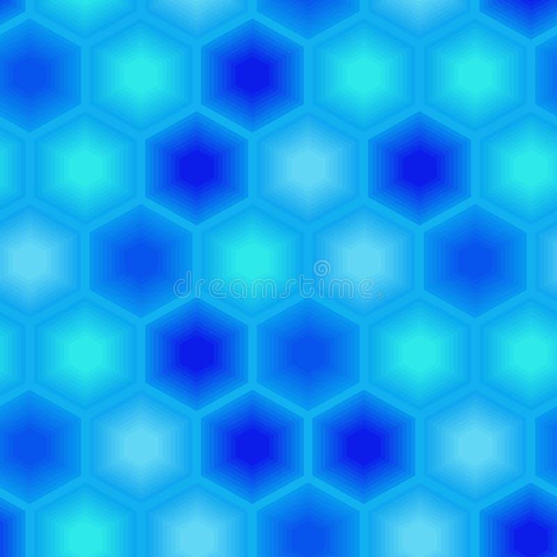 Modelo inconsútil del azulejo stock de ilustración