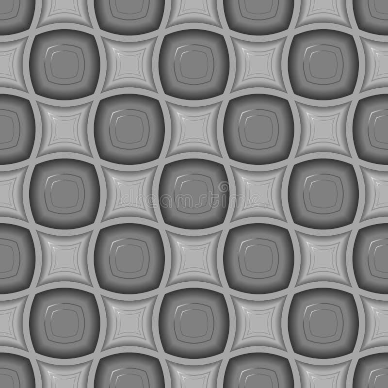 Modelo inconsútil del azulejo 3d libre illustration