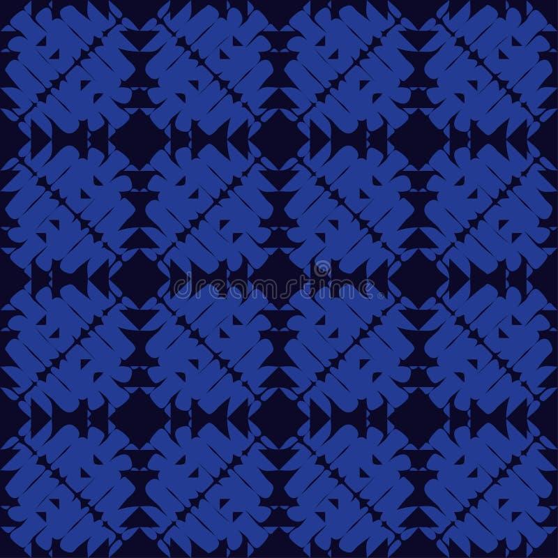 Modelo inconsútil del boho étnico brushwork Ornamento tradicional Fondo geométrico Modelo tribal Adorno popular ilustración del vector