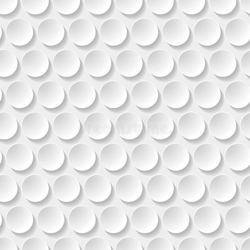 Modelo inconsútil del círculo imágenes de archivo libres de regalías