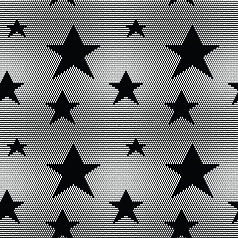 Modelo inconsútil del cordón con las estrellas libre illustration
