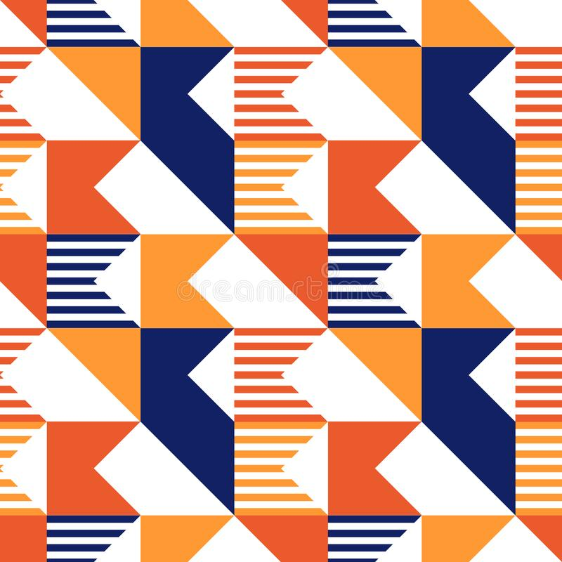 Modelo inconsútil del corte diagonal libre illustration