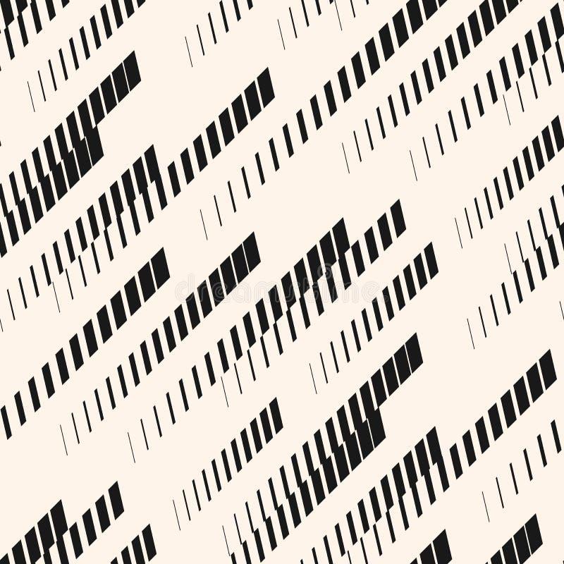 Modelo inconsútil del deporte extremo del vector Líneas diagonales, pistas, rayas de semitono Textura urbana ilustración del vector