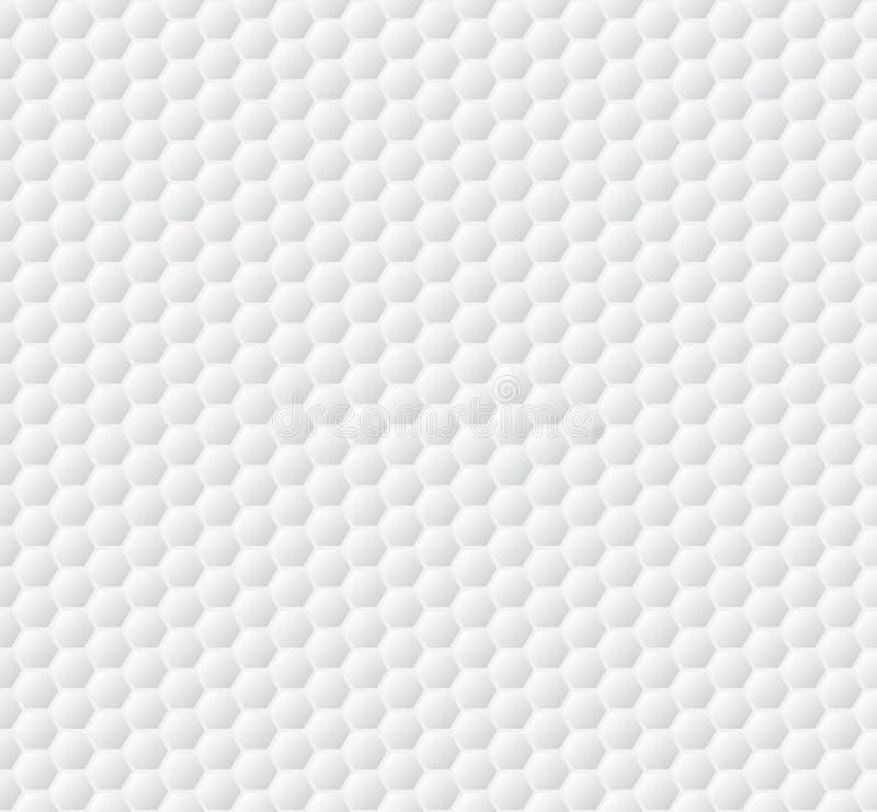 Modelo inconsútil del deporte Textura de la pelota de golf Ilustración del vector libre illustration