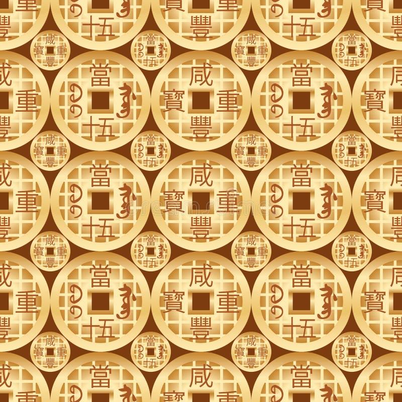 Modelo inconsútil del dinero viejo de la simetría china del oro