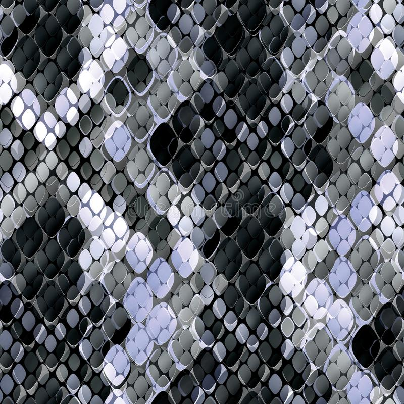 Modelo inconsútil del diseño salvaje Fondo de la piel con efecto de la acuarela Modelo elegante para las materias textiles, diseñ ilustración del vector