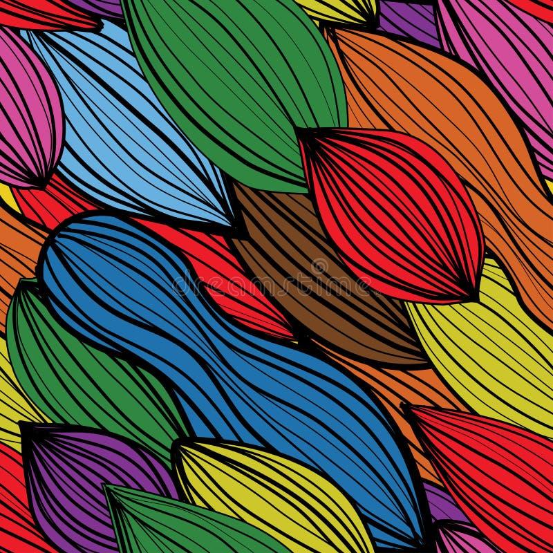 Modelo inconsútil del extracto del colourfull libre illustration