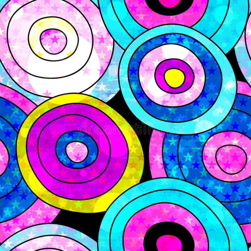 Download Modelo Inconsútil Del Fondo De La Pintada Ilustración del Vector - Ilustración de pintada, movimiento: 64205298