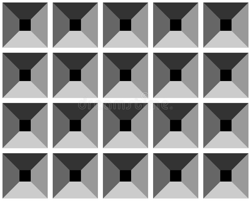 Modelo inconsútil del gris de la relevación. ilustración del vector