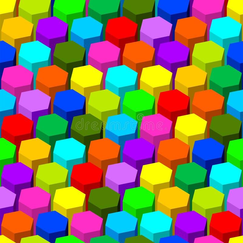 Modelo inconsútil del hexágono. libre illustration