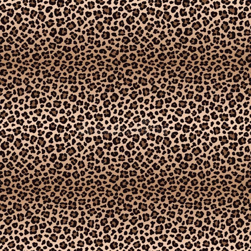 Modelo inconsútil del leopardo con transiciones del color libre illustration