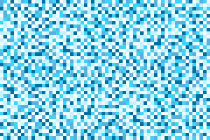 Modelo inconsútil del pixel para el ejemplo del vector del fondo libre illustration