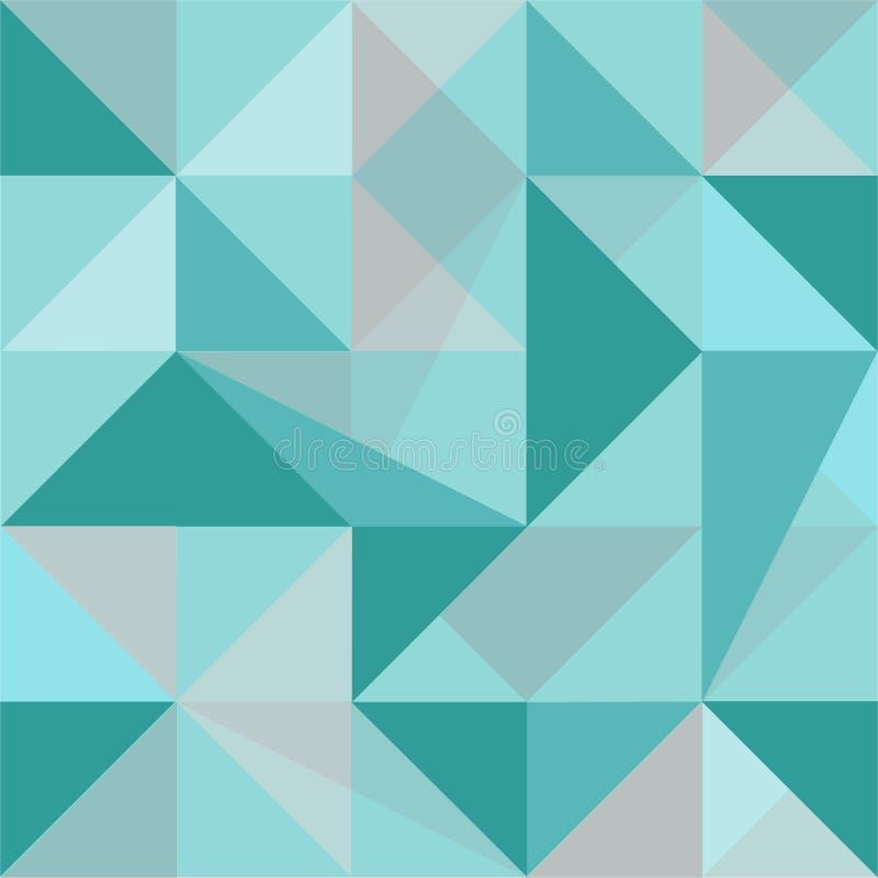 Modelo inconsútil del polígono abstracto libre illustration