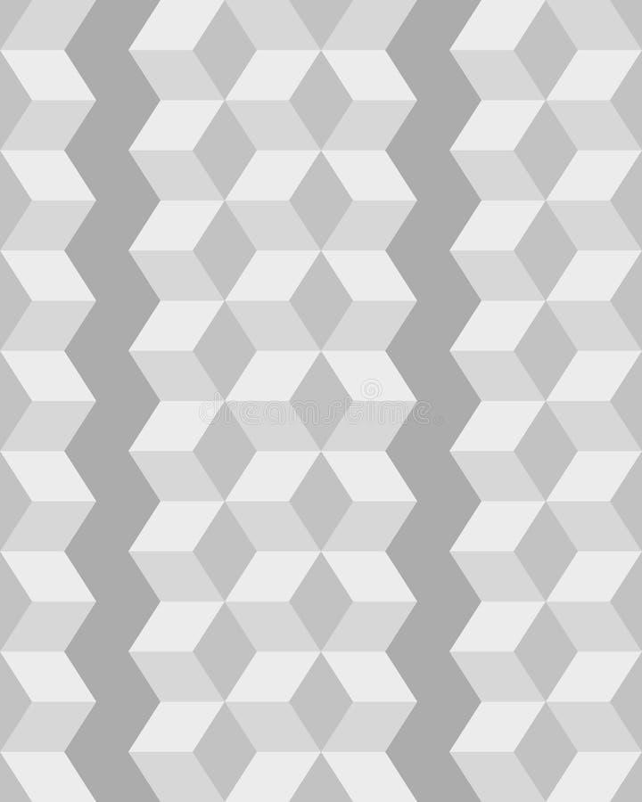 Modelo inconsútil del Rhombus stock de ilustración